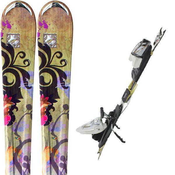 Paire de skis Femme Nordica Drive XBI CT + Fixations N Sport XBI (2012) - Taille 170 ou 178