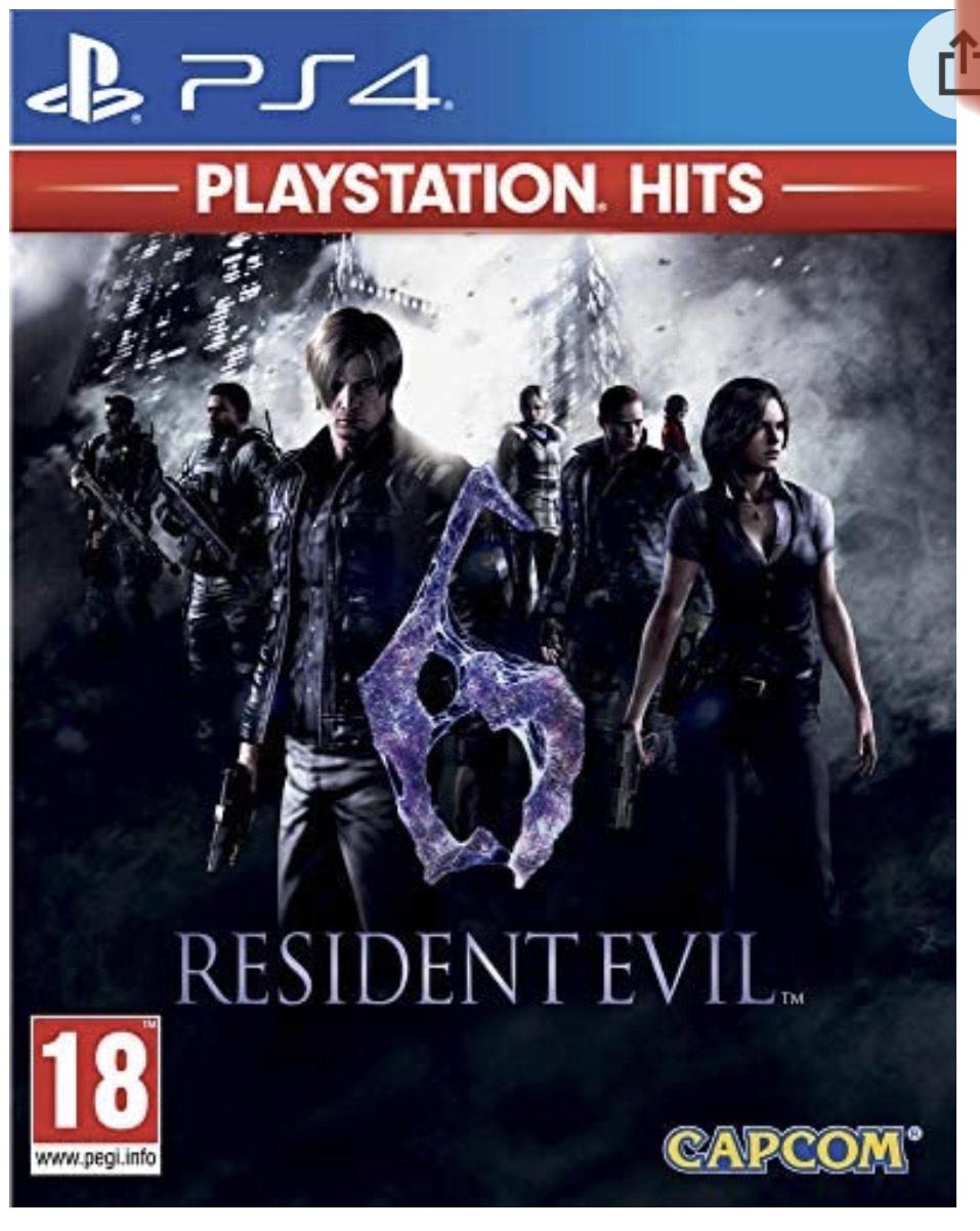 Resident Evil 6 Hits sur PS4