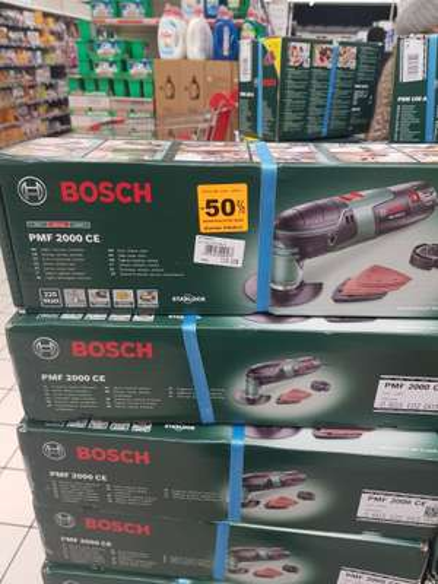 Outil multifonction filaire Bosch PMF 220 CE (220W, livré avec accessoires, interface Starlock) - Villebon-sur-Yvette (91)