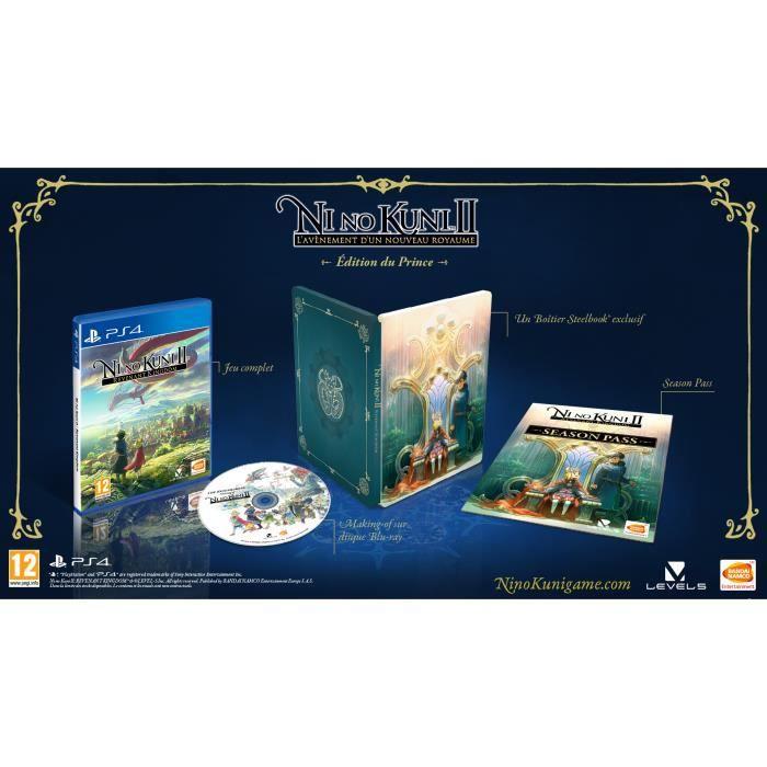 Ni No Kuni 2 Edition du Prince sur PS4