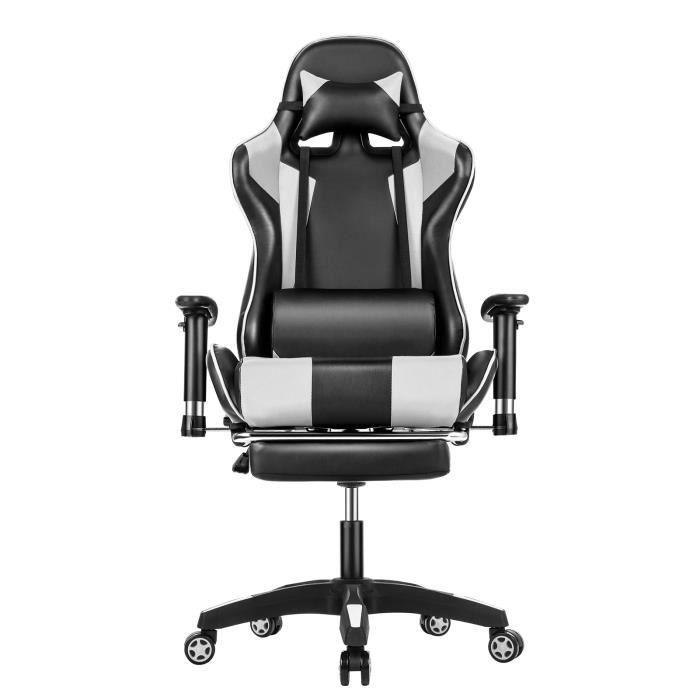 Chaise de Bureau avec Repose-Pieds (Vendeur Tiers)
