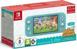 Console Nintendo Switch Lite + Animal Crossing : New Horizons + Abonnement Online 3 mois (via 100€ sur la carte fidélité)