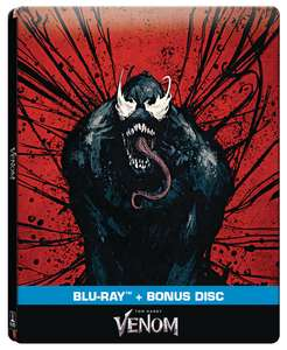 Coffret Blu-Ray steelbook exclu Auchan Venom - Poitiers Sud (86)