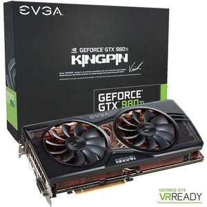 Carte graphique EVGA GeForce GTX 980 Ti Kingpin ACX 2.0+ - 6 Go + Bombshell et Tom Clancy's The Division offerts
