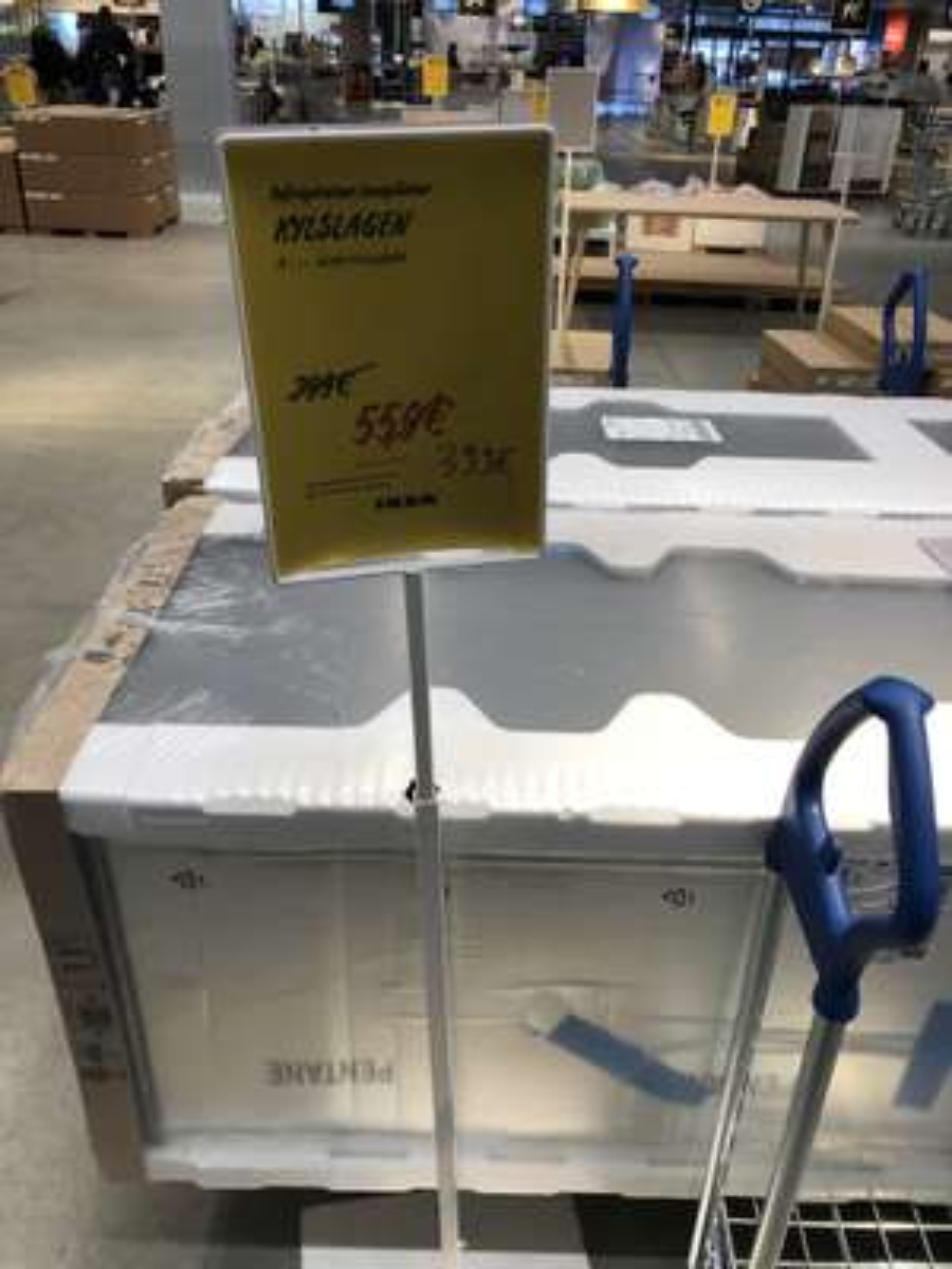 Réfrigérateur congélateur Kylslagen - Acier inoxydable, A+++ (Saint Étienne - 42)