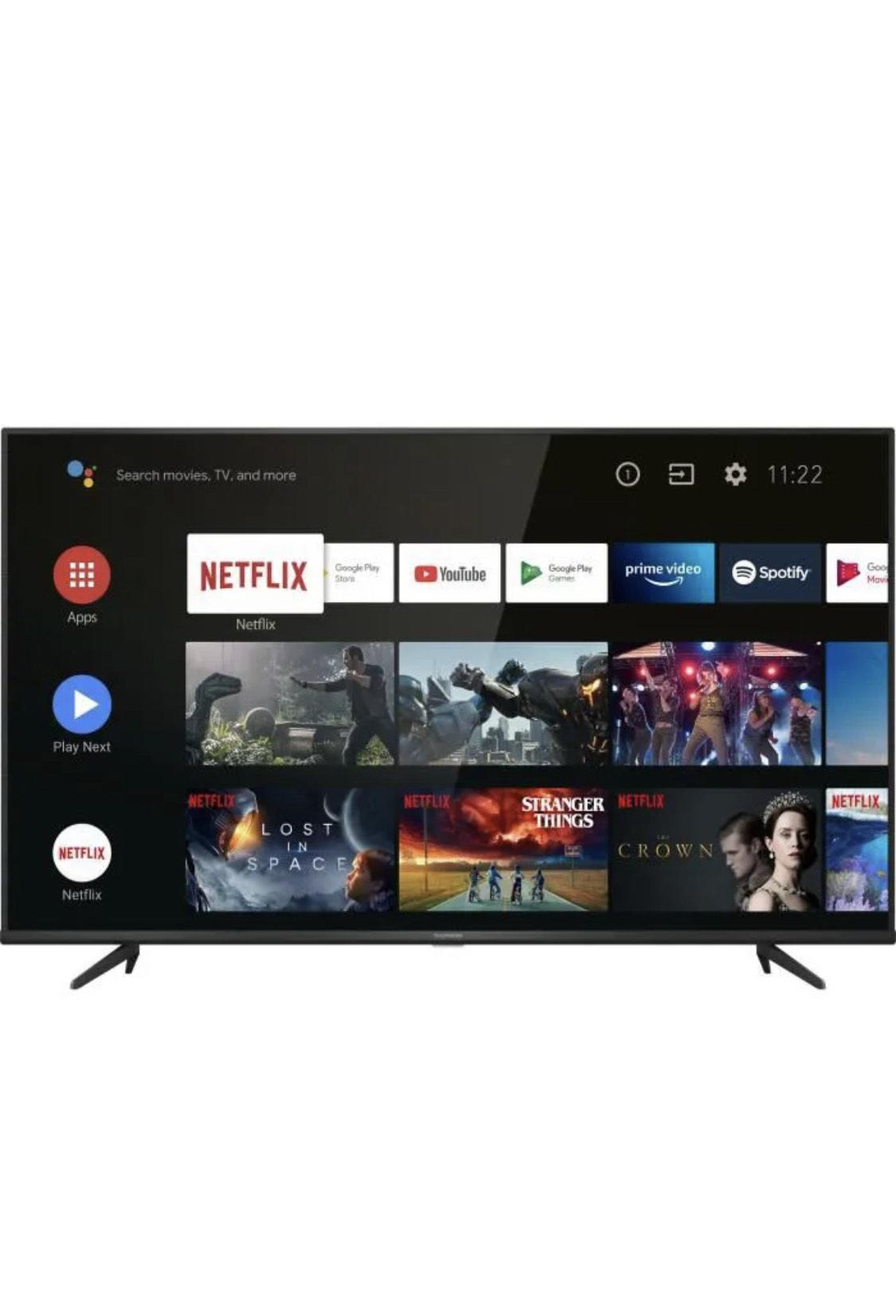 """TV 50"""" Thomson 50UG6420 - UHD 4K , HDR10, SMART TV - Android"""