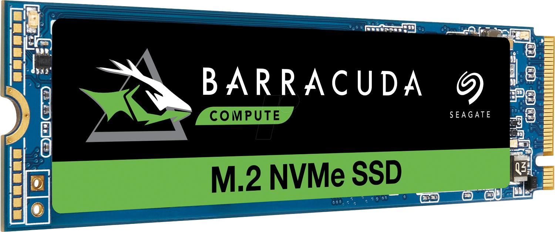 SSD Interne M.2 NVMe Seagate BarraCuda 510 - 1 To (106,89€ avec le code BIENVENUE)