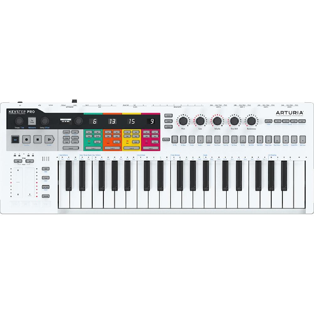 Clavier MIDI et séquenceur Arturia KeyStep Pro
