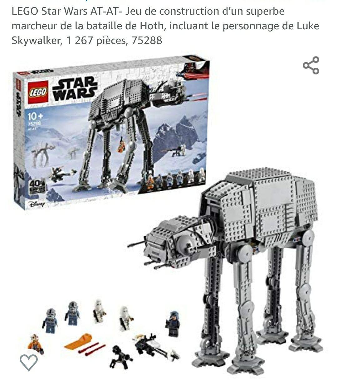 Jeu de construction Lego Star Wars AT-AT n°75288