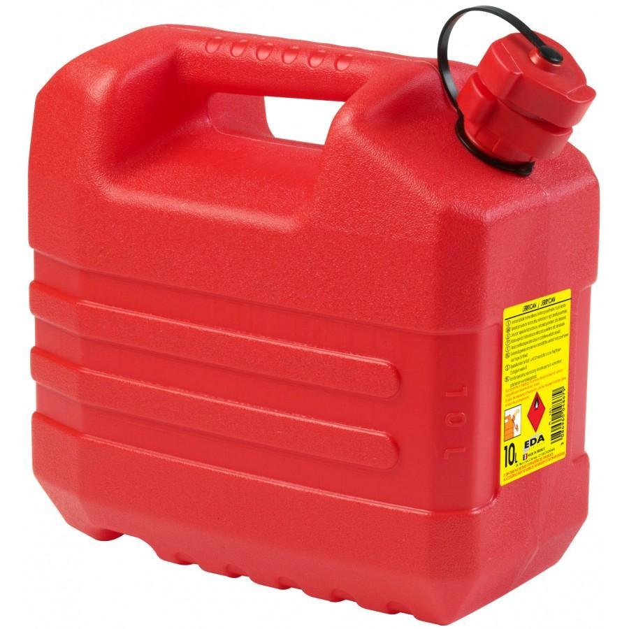 Jerrican avec Bec verseur intégré (10L) Homologué Hydrocarbure