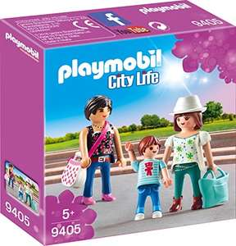 Jouet Playmobil Femmes avec Enfant n°9405