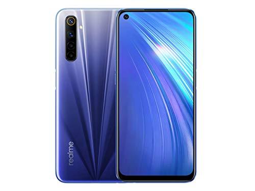 """Smartphone 6.5"""" Realme 6 - FHD+, 4 Go RAM, 128 Go, Bleu"""