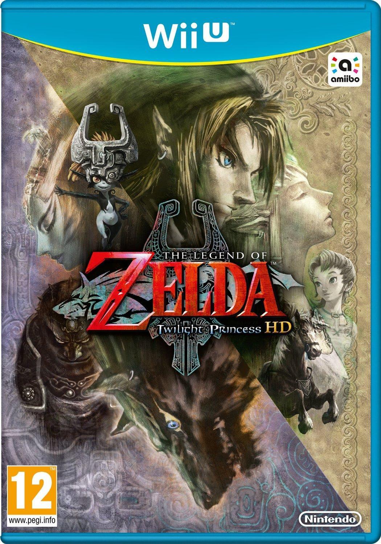 Jeu Zelda Twilight Princess sur Wii U