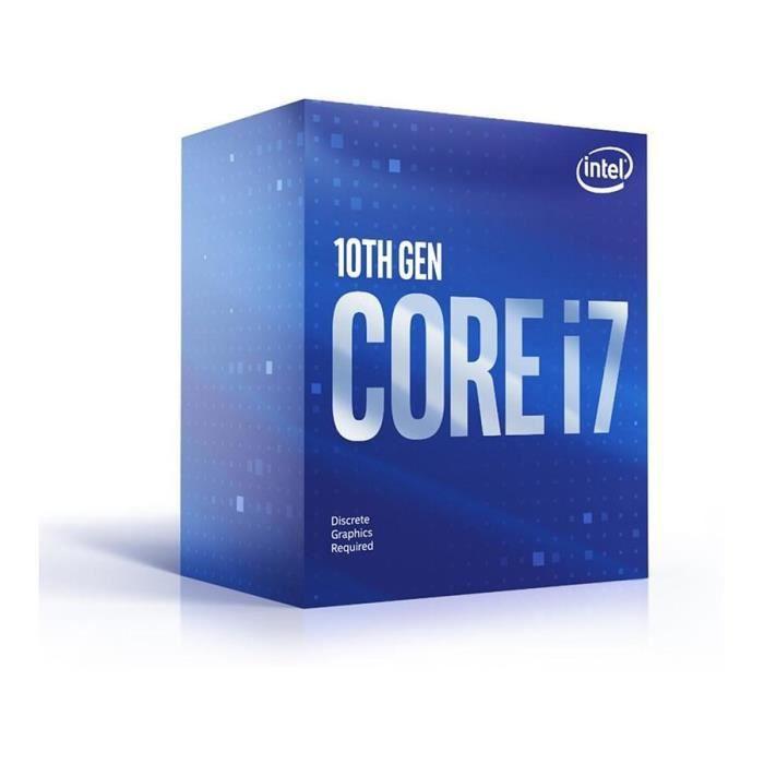 Processeur Intel Core i7-10700F (Vendeur tiers)