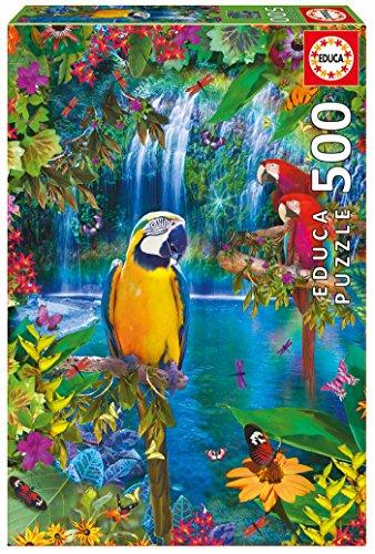 Puzzle Educa 15512 - Paradis Tropical (500 Pièces)