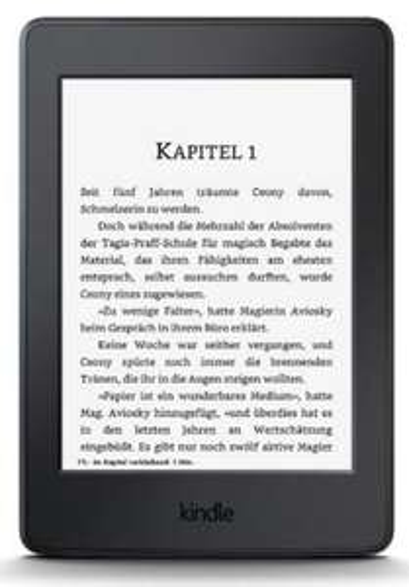 """Liseuse tactile 6"""" Kindle Paperwhite avec publicités"""