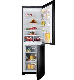 Réfrigérateur combiné Hotpoint EBM18340 - 303L, Silver/noir