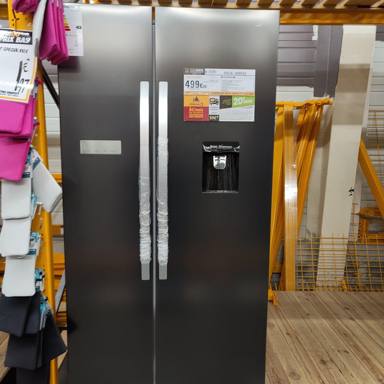 Réfrigérateur Américain Valberg sbs 562 a+ - Electro dépôt Carcassonne