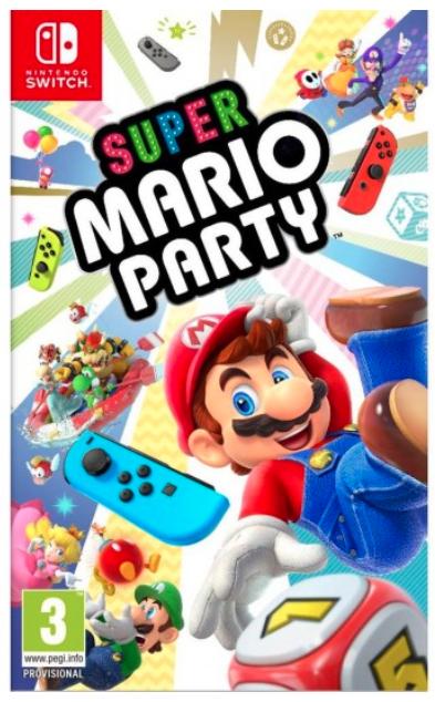 Jeu Super Mario Party sur Nintendo Switch (via 5€ fidélité)