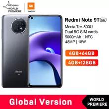 "Smartphone 6.53"" Xiaomi Redmi Note 9T 5G - 64 Go"