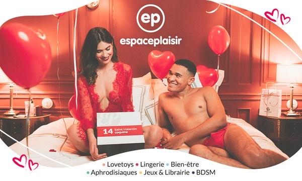 Bon d'achat de 45€ sur la boutique en ligne Espace Plaisir
