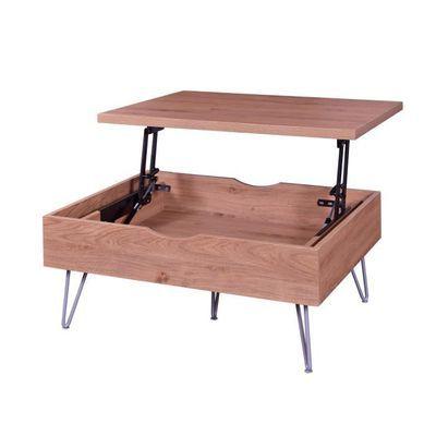 Table basse vintage Vlouren - 79 x 59 cm