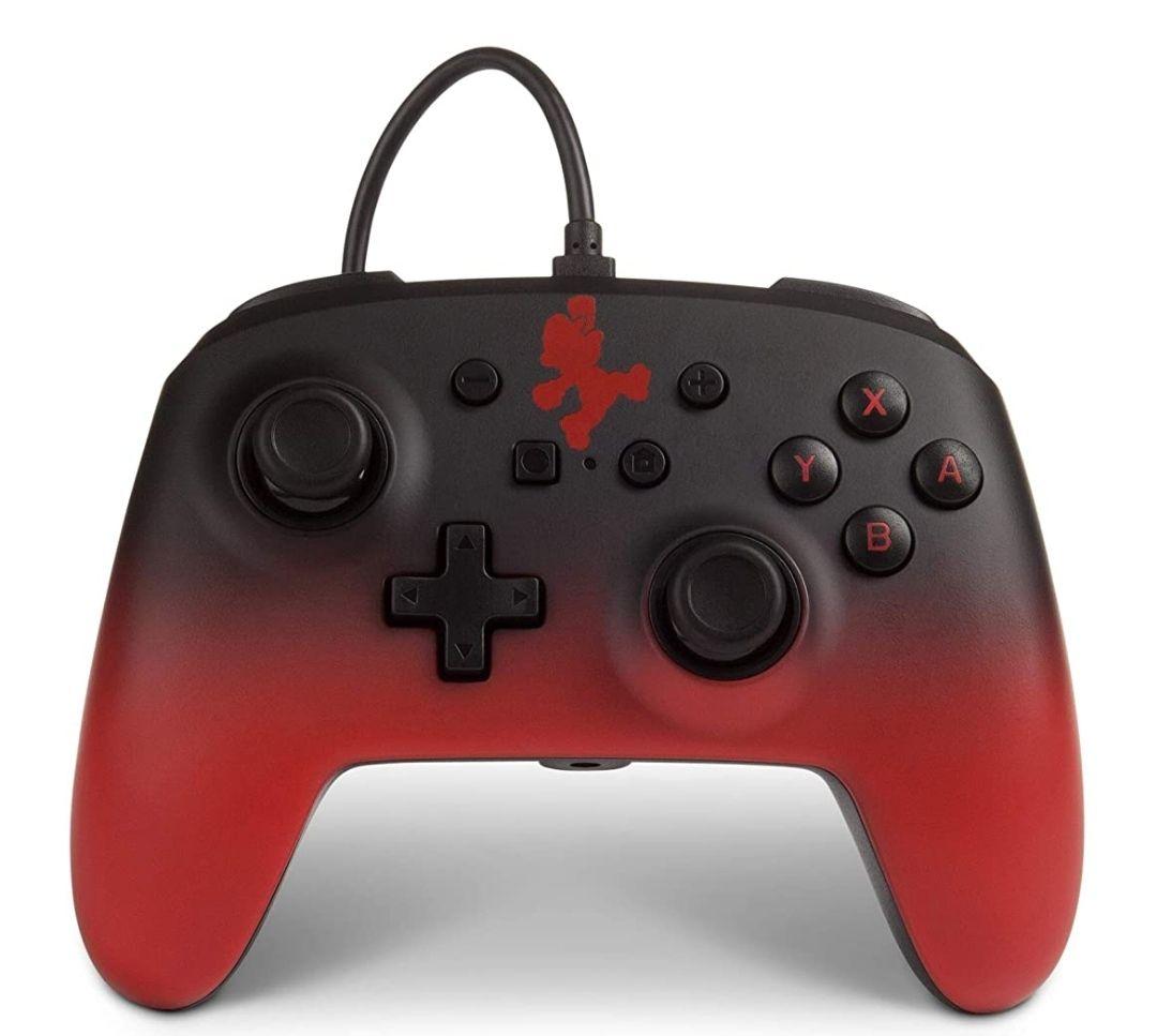 Manette filaire officielle Power A Super Mario pour Nintendo Switch