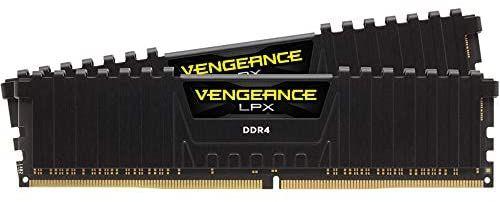 Kit Mémoire RAM Corsair Vengeance LPX (CMK16GX4M2D3000C16) - 16Go (2x8Go), DDR4, 3000MHz, C16 XMP 2.0
