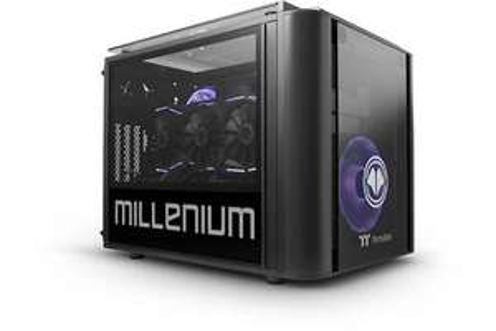 PC Fixe Millenium MM2 Mini Maokai - AMD Ryzen 9 3900, 32 Go de RAM, HDD 2 To + SSD 500 Go, Nvidia GF RTX 3090 (24 Go), Windows 10