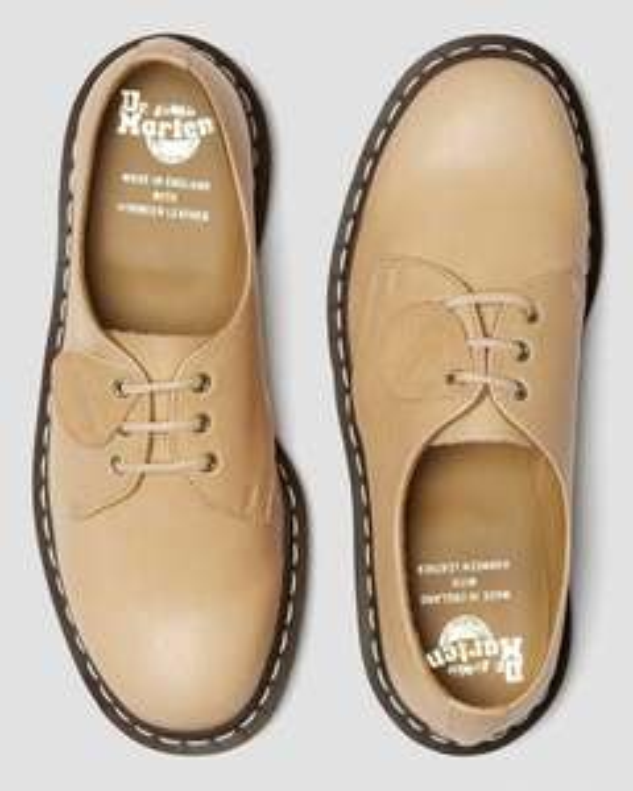 Chaussures Dr Martens 1461 made in England - cuir tannage végétal, Tailles: Du 41 au 46 (sauf 44)