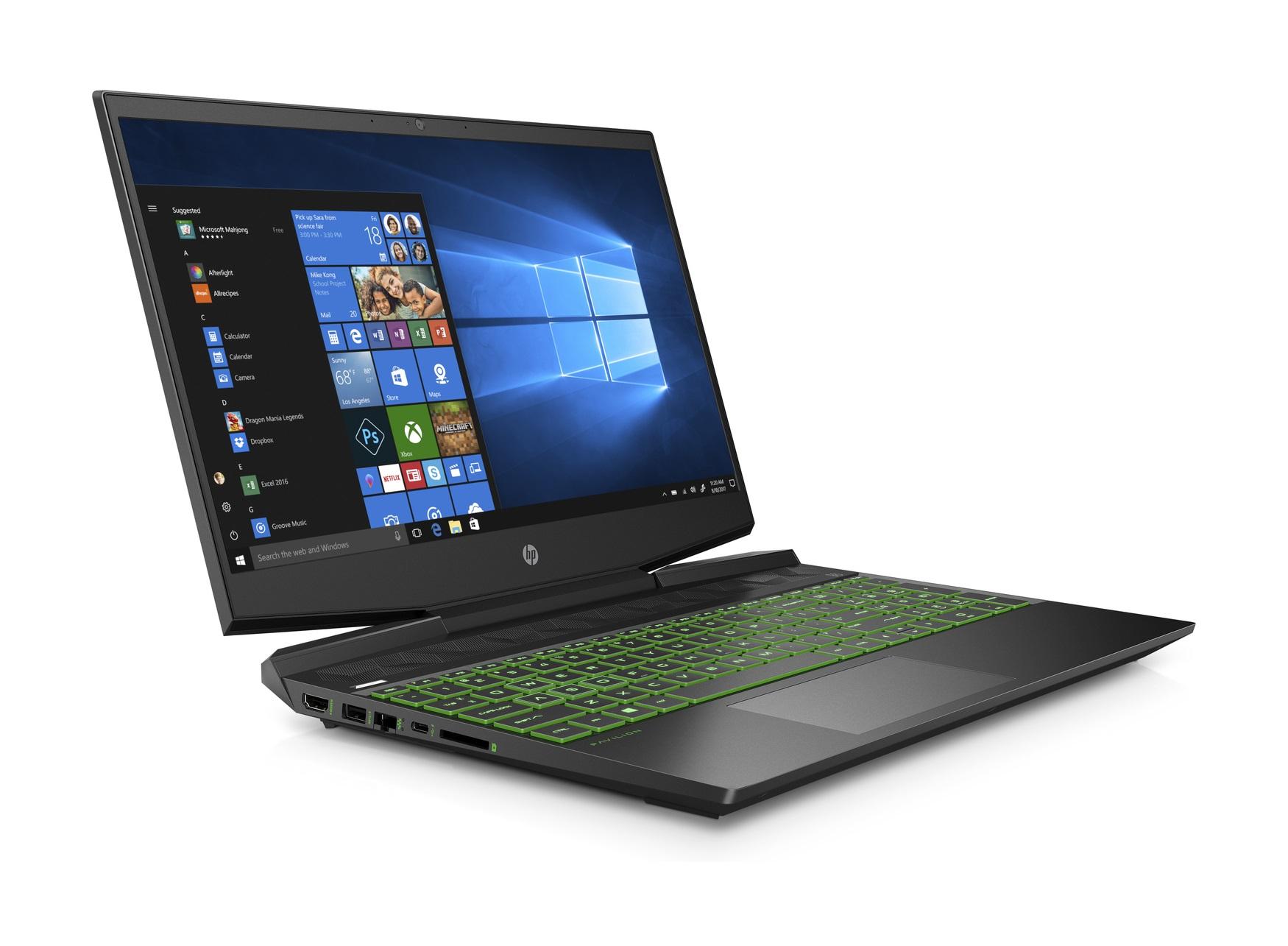 "PC Portable 15.6"" HP Pavilion Gaming 15-dk1017nf - FHD, i5-10300H, 8 Go RAM, 1 To HDD + 256 Go SSD, GTX 1660 Ti, Windows 10"