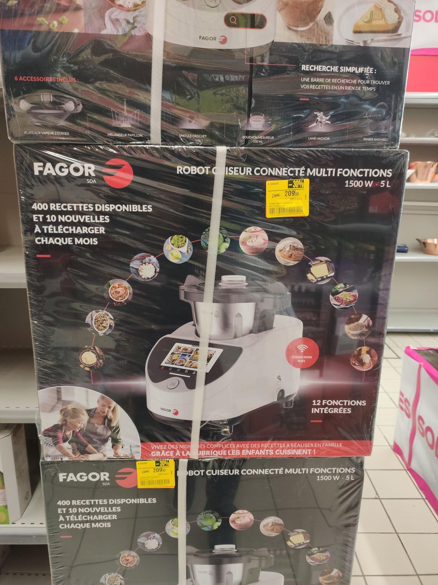 Robot cuiseur multifonction connecté Fagor FG0606 - Jonage (69)