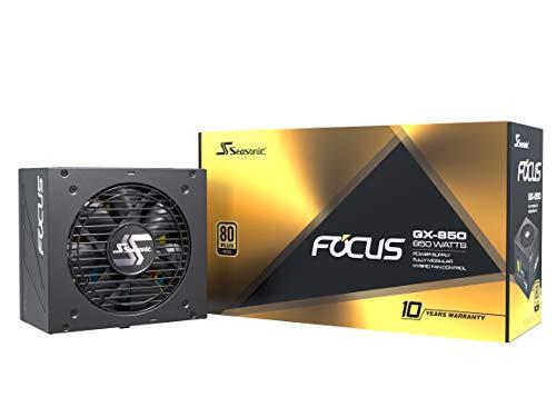 Alimentation PC modulaire Seasonic Focus GX-850 - 80+ Gold, 850W
