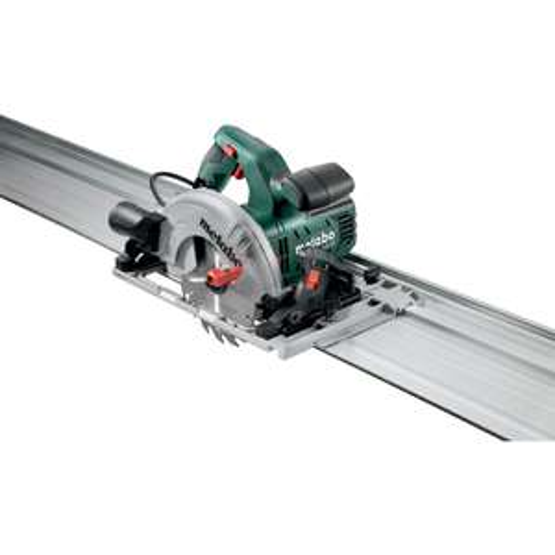 Scie circulaire filaire Metabo KS 55 FS SET (1200W) - lame 160 x 20 mm, avec rail de guidage 150 cm
