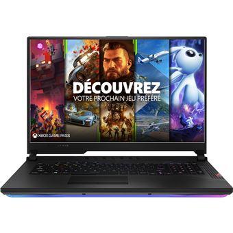 "PC Portable 17.3"" FHD Asus ROG Strix SCAR 17 G732LXS-HG047T - i7-10875H, RTX-2080 Super (8 Go), 16 Go RAM, 1 To SSD, Windows 10"