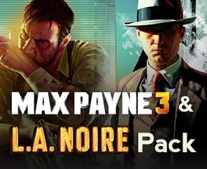 Pack Max Payne 3 & L.A. Noire sur PC (Steam)