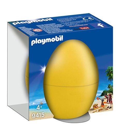 Sélection d'œufs de Pâques Playmobil - Ex: Pirate avec Canon et trésor (9415)