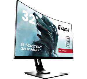 "Ecran PC 31.5"" Ilyama G-MASTER GB3266QSU-B1 - WQHD, Dalle VA 1 ms, 144Hz (laboutiquedunet.com)"