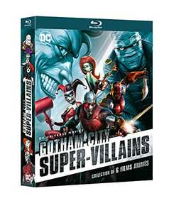 Coffret Blu-Ray DC Comics - Gotham City : Super-Villains