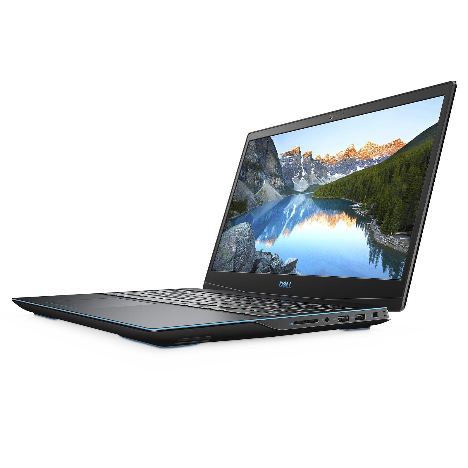 """Portable Gamer 15,6"""" Dell Inspiron G3 15 3500 - Full HD 144Hz, Intel Core i7-10750H, 8 Go RAM, SSD 512 Go, GTX 1600 Ti 4Go, Windows 10"""