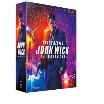 Coffret DVD John Wick La Trilogie