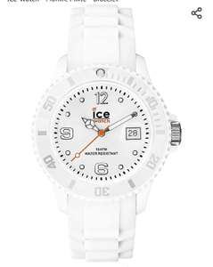 Montre silicone ICE Watch - Blanche, 35.7mm