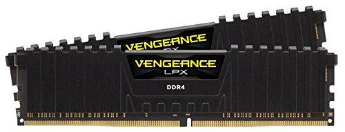 Kit Mémoire RAM Corsair Vengeance LPX Black - 16 Go (2 x 8 Go), 2400 MHz, Cas 14