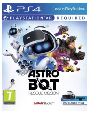 Astro Bot Rescue Mission VR sur PS4 (Retrait magasin)