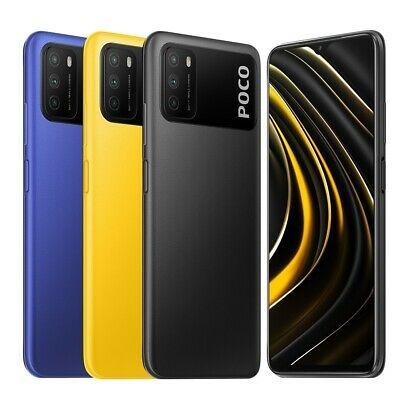 """Smartphone 6.53"""" Xiaomi Poco M3 - Full HD+, SnapDragon 662, 4 Go de RAM, 64 Go (Noir, Bleu ou Jaune)"""