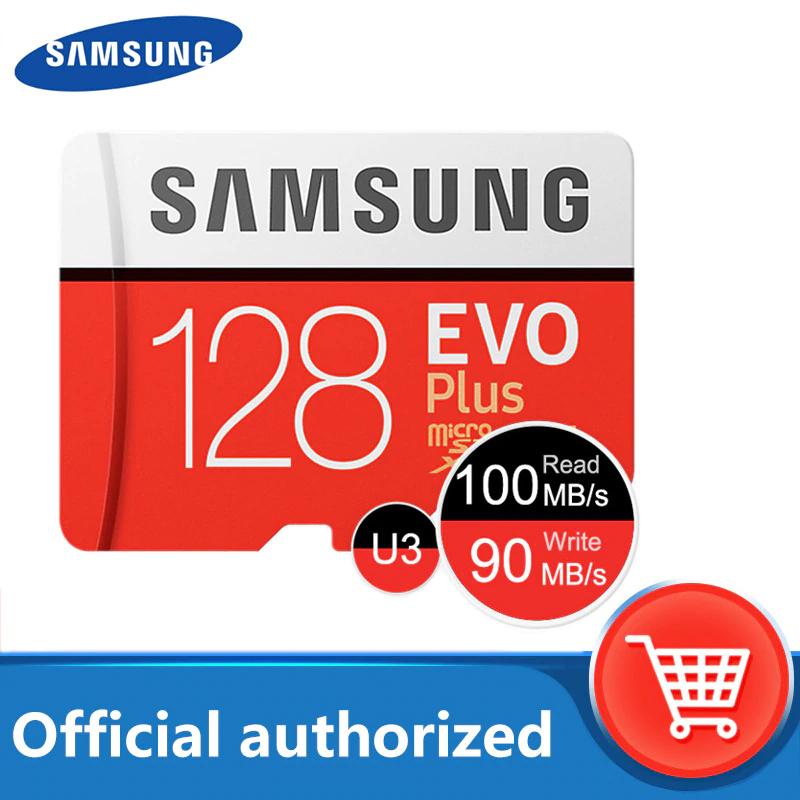 Carte micro SDXC Samsung Evo Plus UHS-I classe U3 - 128 Go