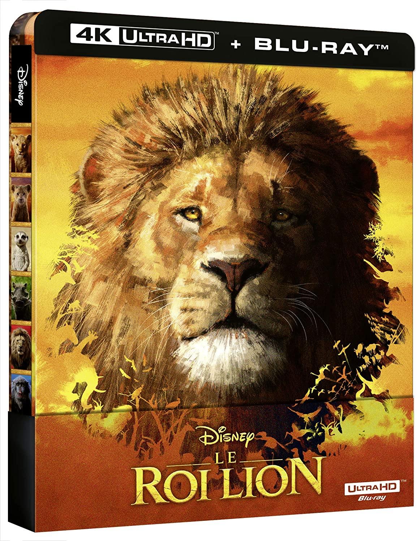 Blu-ray 4K UHD Le Roi Lion (avec steelbook)