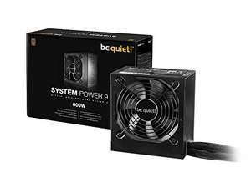 Alimentation PC Be Quiet System Power 9 - 600W, 80+ Bronze