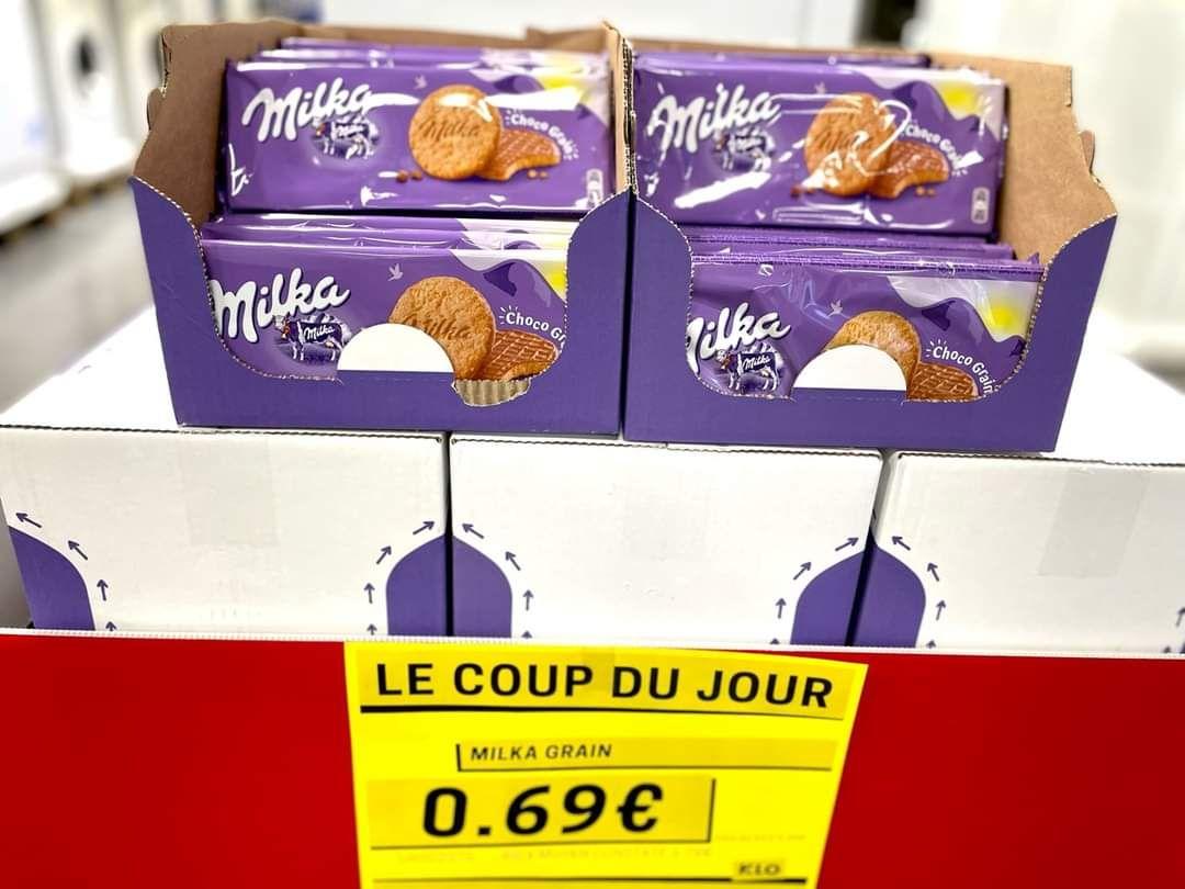 Paquet de biscuits Milka Choco Grain - KLO Claira (66)