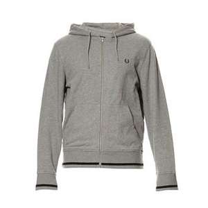 Sweat Bomber Fred Perry Gris (Tailles M, L & XL)